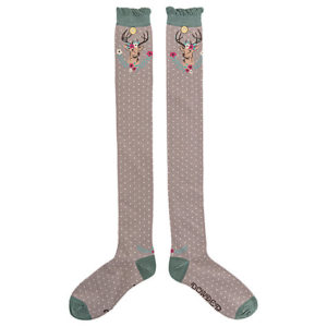 powder slate stag design long socks 300x300 - Slate Stag Design Long Socks by Powder