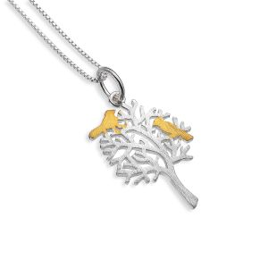 pure origins handcrafted sterling silver a birds home pendant - A Birds Home Pendant by Pure Origins