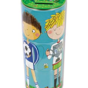 rachel ellen swivel money box tin football fund 300x300 - Football Fund Swivel Money Box Tin by Rachel Ellen