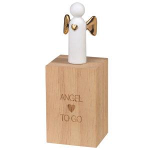 rader angel to go white porcelain angel keepsake 300x300 - Angel To Go White Porcelain Angel Keepsake in Wooden Box by Rader