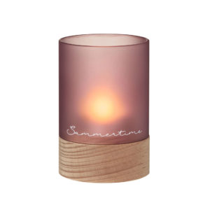rader glass wind light summertime tea light holder 300x300 - Wind Light Small Summertime Glass Tealight Holder by Rader