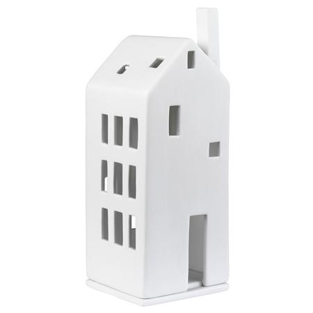 rader medium 18 porcelain tea light house - Medium 18 Porcelain Tea Light House by Rader