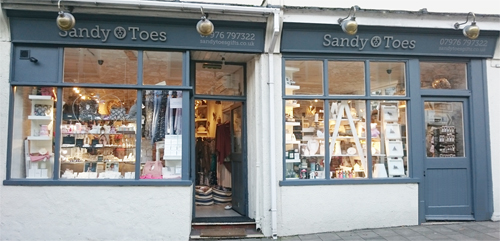 sandy toes brixham shop sml - Contact Sandy Toes