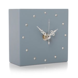 shruti designs gem clock cube dark blue 300x300 - Gem Clock Cube Dark Blue by Shruti Designs