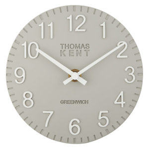 thomas kent grey mantle clock 300x300 - Mantel Clock in Grey by Thomas Kent